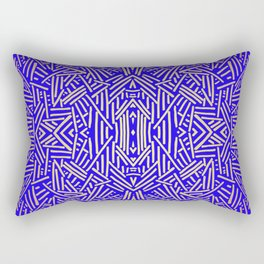 Radiate (Yellow/Ochre Royal) Rectangular Pillow