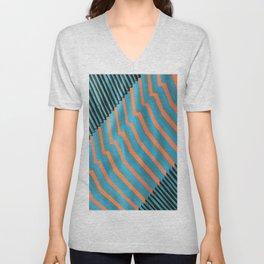 Geometric Abstraction Unisex V-Neck
