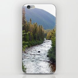 Mountain River iPhone Skin