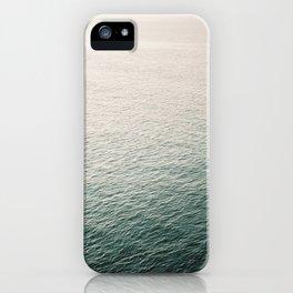 "Coastal beach photography ""Free as the ocean"" | Modern wall Art Sea Ibiza iPhone Case"