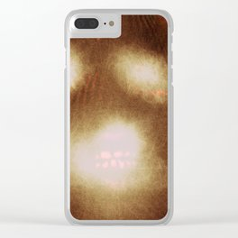 Blank Space Face Clear iPhone Case