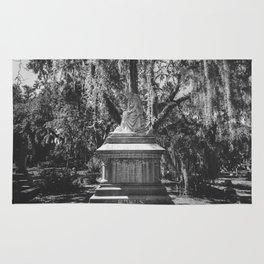Bonaventure Cemetery Statue Rug