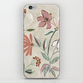 Monday Floral iPhone Skin