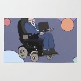 Stephen Hawking art Rug