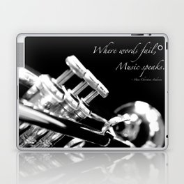 Music Speaks Laptop & iPad Skin
