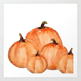 pumpkins art prints society6