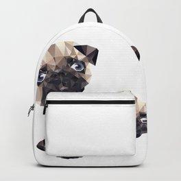 Pug Diamonds Backpack