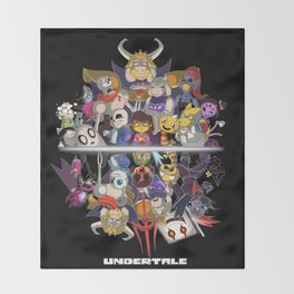 Undertale Throw Blanket