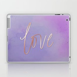 Love in the Clouds - Purple Laptop & iPad Skin