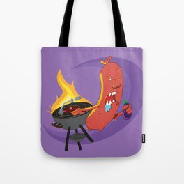 Sausage BBQ Party! Tote Bag