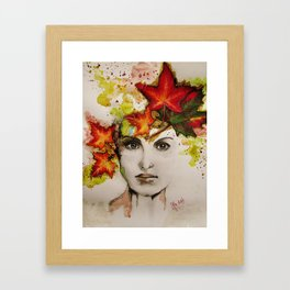 """""""My autumn"""" Framed Art Print"""
