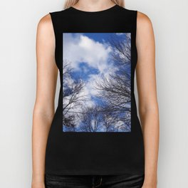 Reaching for the clouds Biker Tank