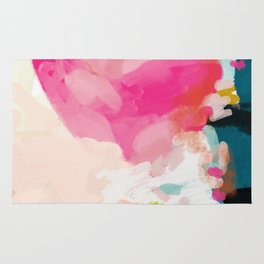 pink sky Rug