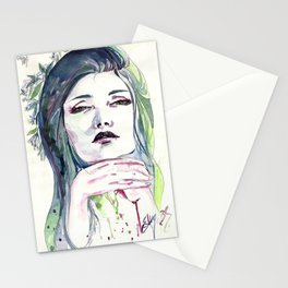 Dying Flora series: Snake Stationery Cards