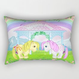 g1 my little pony collector ponies Rectangular Pillow