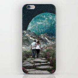 Moon Walk iPhone Skin