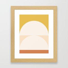 Abstract Geometric 01 Framed Art Print