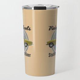 Vintage Wheels - Studebaker Starliner Travel Mug