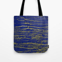 Stone Blue Yellow Tote Bag