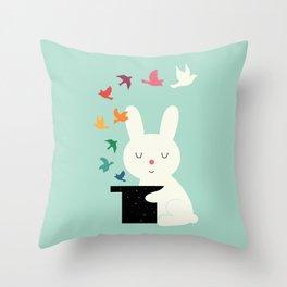 Magic Of Peace Throw Pillow