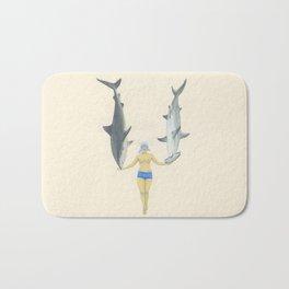 The Shark Charmer Bath Mat