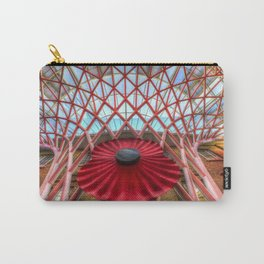 Kings Cross Station London Poppy Carry-All Pouch