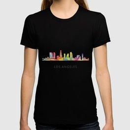 Los Angeles, California Skyline WB1 T-shirt