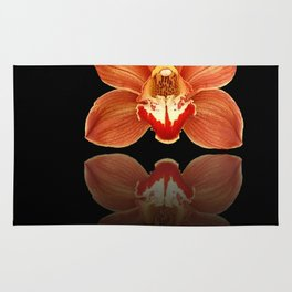 Red Reflection Rug