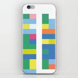 Color Code Blocks iPhone Skin