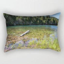 Finally Feels Like Spring Rectangular Pillow