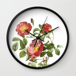 Vintage Red Roses [06] Wall Clock