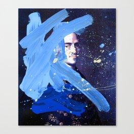 Blue Explosion Canvas Print