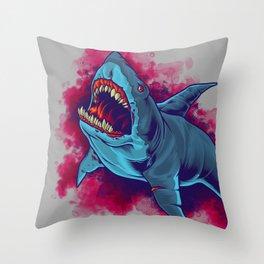 Shark - Natural Hunter Throw Pillow