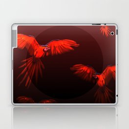 Papagei sunset Laptop & iPad Skin