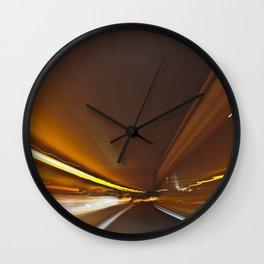 Traffic in warp speed Wall Clock