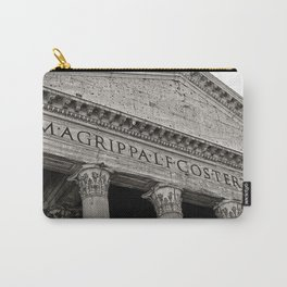 The Pantheon black and white Carry-All Pouch