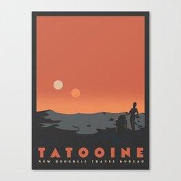 Visit Tatooine Canvas Print