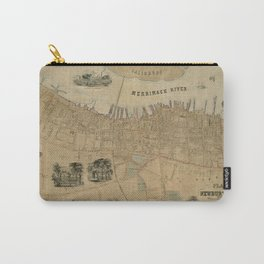 Map of Newburyport 1851 Carry-All Pouch