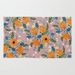 Floral Design Rug