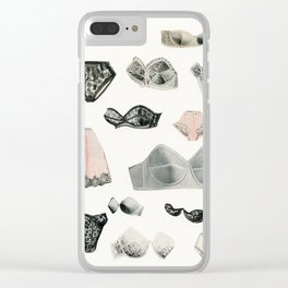 Lingerie Clear iPhone Case