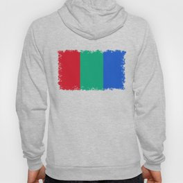 Flag of the planet Mars - Diff TEE version Hoody