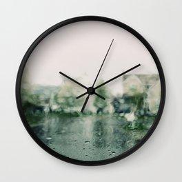 The Rain In May Wall Clock