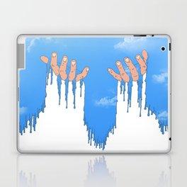 Le ciel coule sur mes mains Laptop & iPad Skin