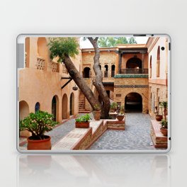 agadir medina courtyard Laptop & iPad Skin