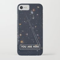 wes anderson iPhone & iPod Cases featuring THE UNIVERSE - Space   Time   Stars   Galaxies   Science   Planets   Past   Love   Design by Mike Gottschalk
