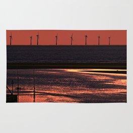 River Alt and the wind farm Rug