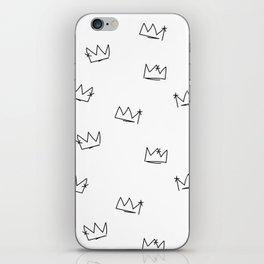 Crowns Reverse iPhone Skin