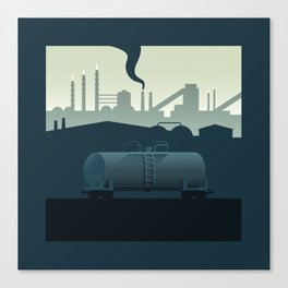 The Lonely Tanker Canvas Print