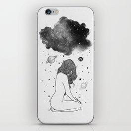 I prefer night. iPhone Skin