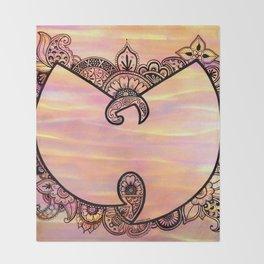 Henna Wu Throw Blanket